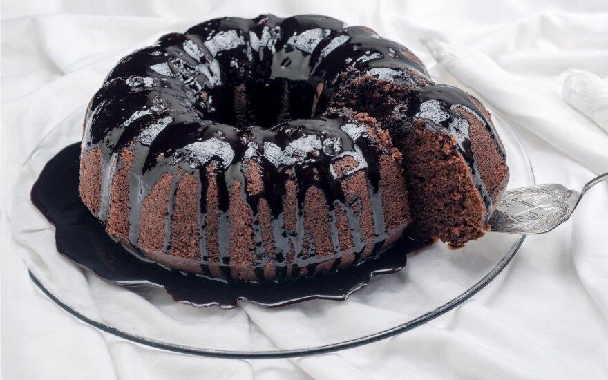 Burnoje tirpstantis šokoladinis keksas