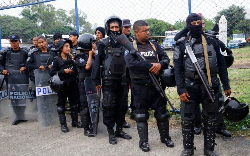 Nikaragvos prezidentas atsisako paklusti protestuotojų reikalavimams atsistatydinti