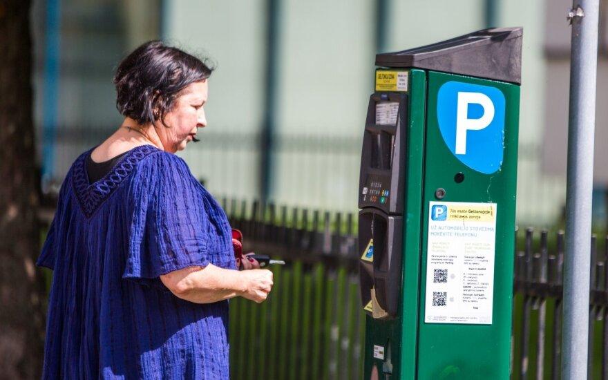 Parkavimo vieta centre - ir už automobilio kainą