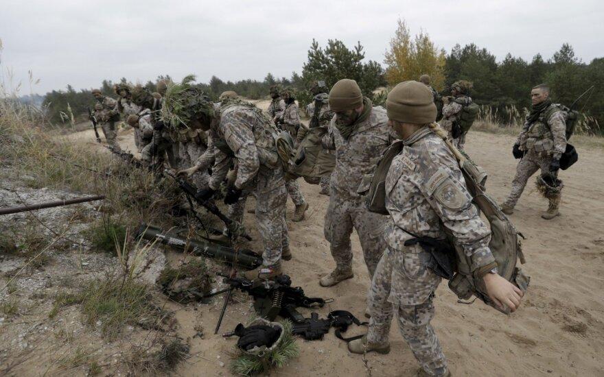 Latvija didina Irake dislokuojamų karių skaičių