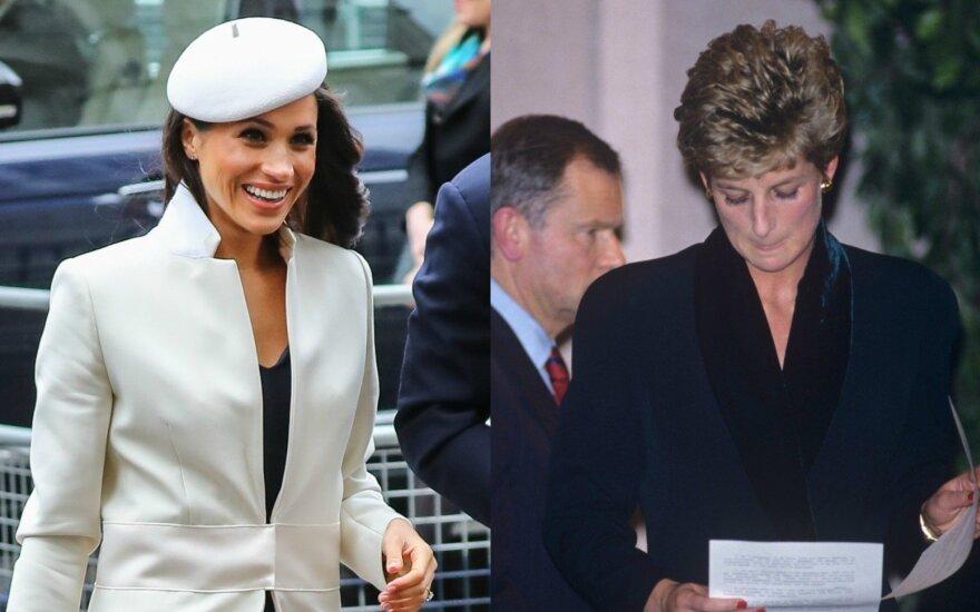 Meghan Markle, princesė Diana