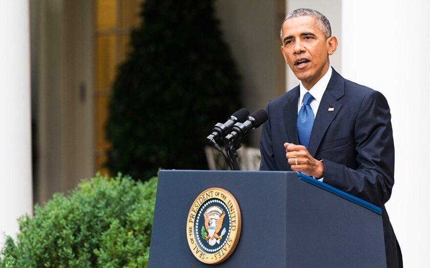 US President Barack Obama. Photo Ludo Segers