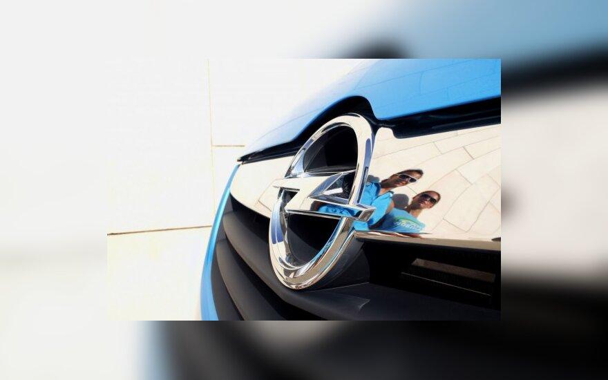 """Brangūs """"Opel"""" planai"""