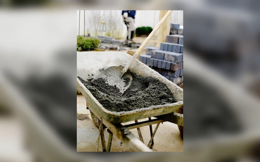 cementas, betono gamyba