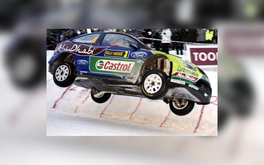 Mikko Hirvonenas (Ford Focus RS WRC 09)