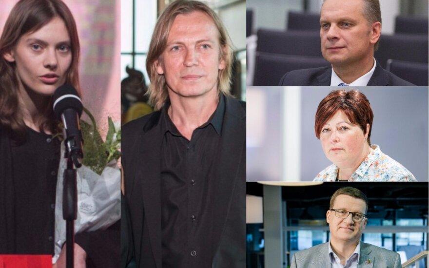 J. Steponaitytė, Š. Bartas, A. Pažarskis, K. Mišinienė, L. Slušnys