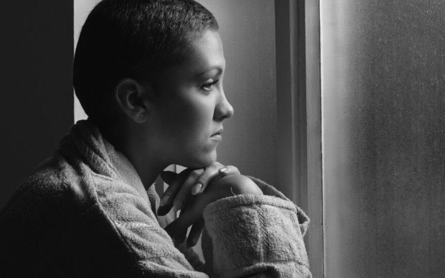 Kraujo vėžiui nesvarbu, jog tau egzaminas: 17-etės Vaivos istorija