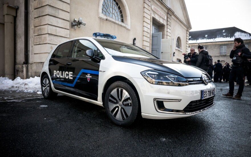 Su 3,4 mln. eurų pasprukęs inkasatorių automobilio vairuotojas sučiuptas