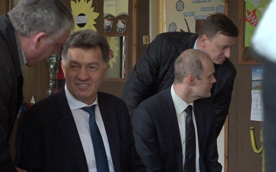 A. Butkevičius ketvirtadienį rinkėjus agitavo Pajevonyje