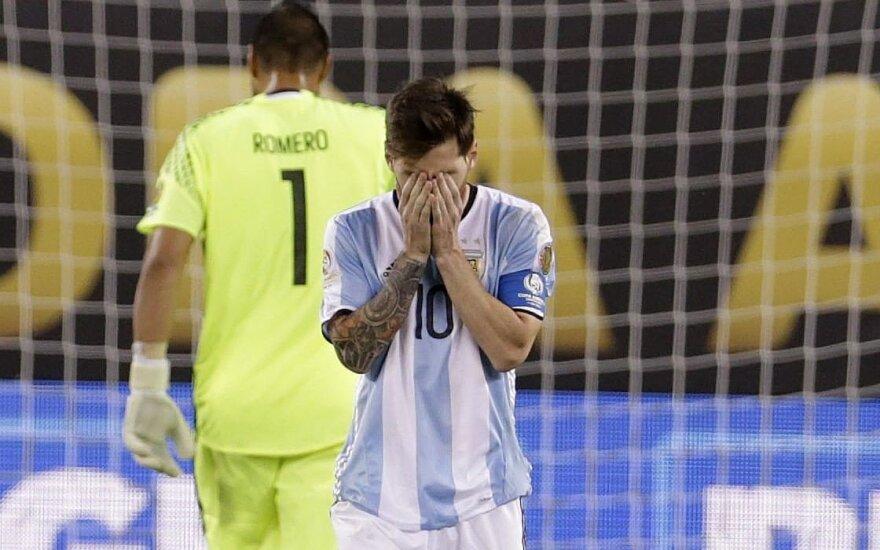 Pasaulis priblokštas: L. Messi skirta 21 mėn. kalėjimo bausmė