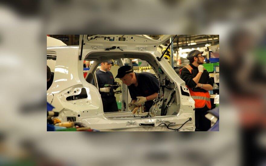 Čekijoje automobilių gamyba išaugo beveik 13 proc.