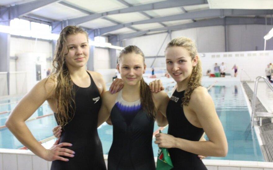 Eglė Švedaitė, Gabija Daraškevičiūtė ir Aurelija Tamašauskaitė