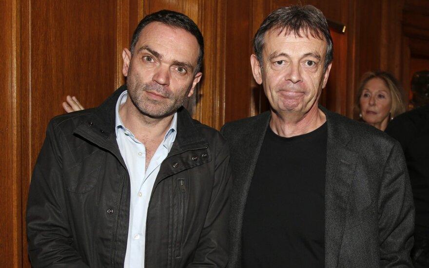 Yannas Moixas (kairėje)