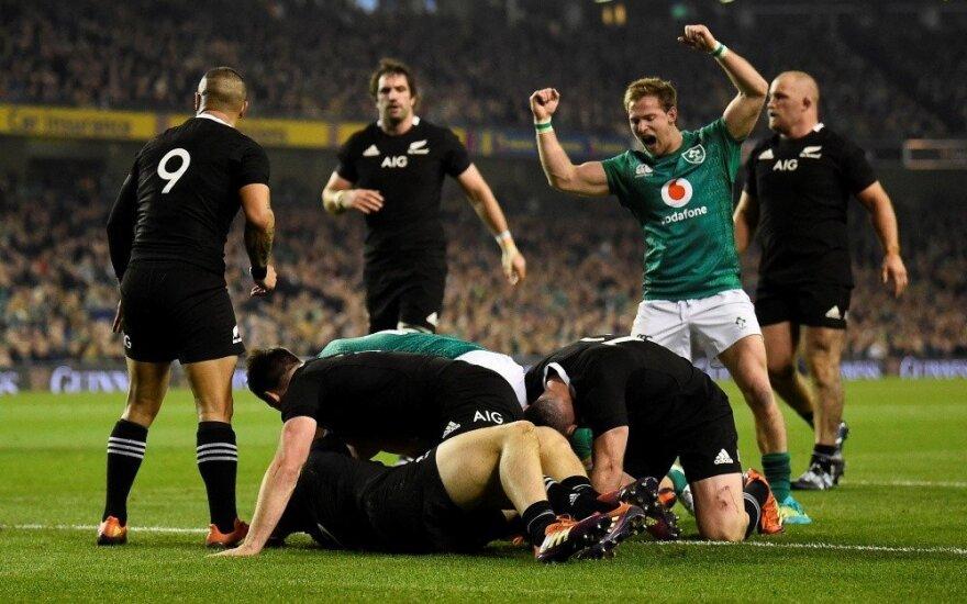 Airiai tik antrą kartą istorijoje nugalėjo Naująją Zelandiją