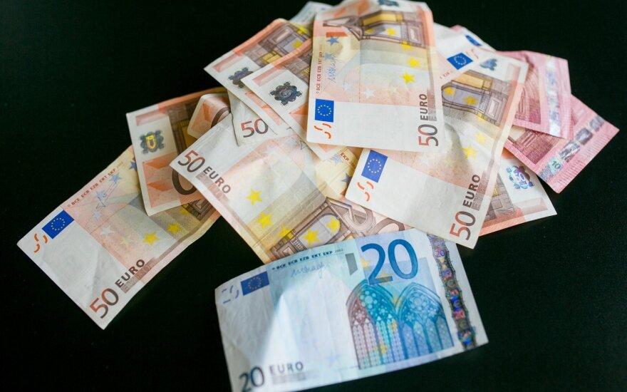 Prancūzijos centrinis bankas prognozuoja 0,5 proc. BVP augimą