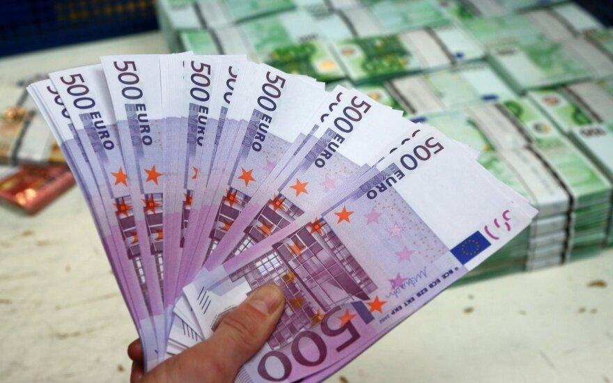 Nuo 2019-ųjų 500 eurų banknotai - nebegaminami