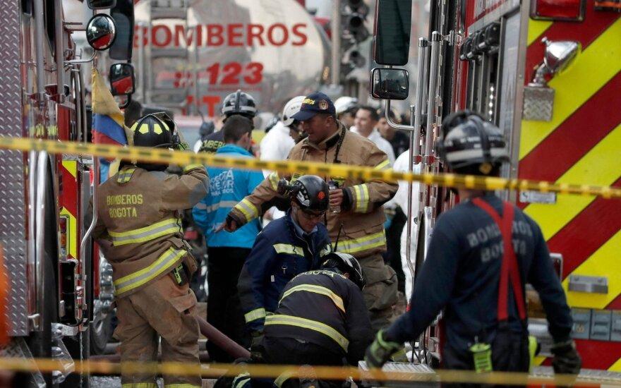 Sprogimas Bogotoje