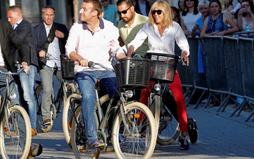 Emmanuelis Macronas, Brigitte Macron, Alexandre'as Benalla