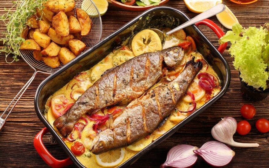 Kas vyks organizme, jei bent kartą per dieną valgysite žuvies