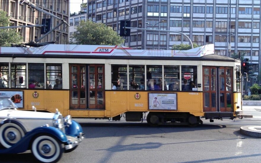 Milane apima jausmas, lyg keliautum laiko mašina