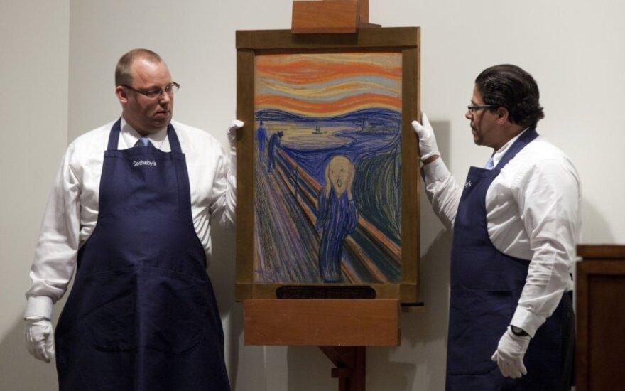 """Edvardo Muncho paveikslas """"Šauksmas"""""""