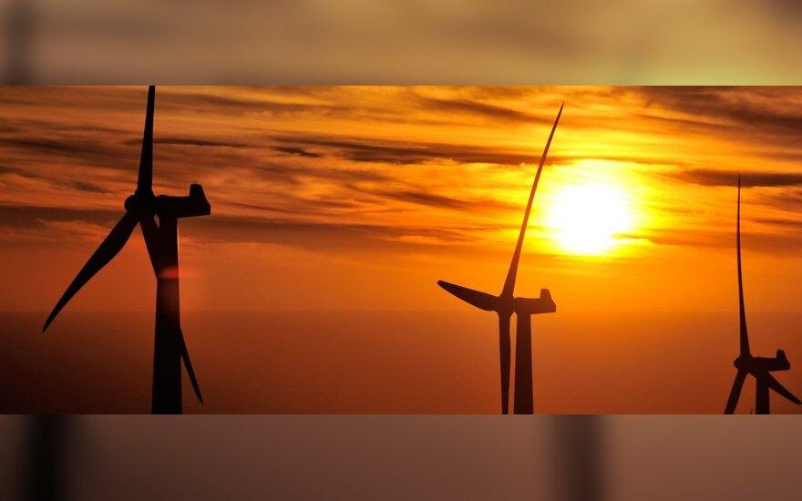 Vakarų Lietuvoje planuoja didžiulius vėjo jėgainių parkus