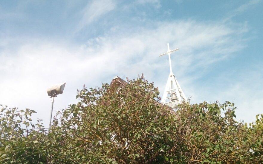 Vaizdas iš terasos Nidoje