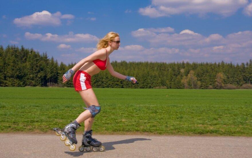 Smagi, lengva ir aktyvi vasara – ant riedučių