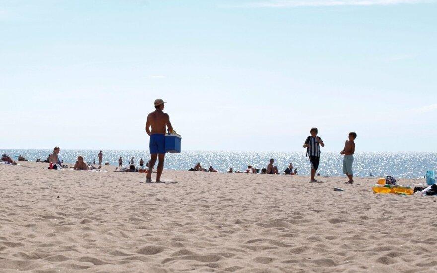 Poilsiautojo skundas: vaizdas Palangos paplūdimyje – kaip kino filme