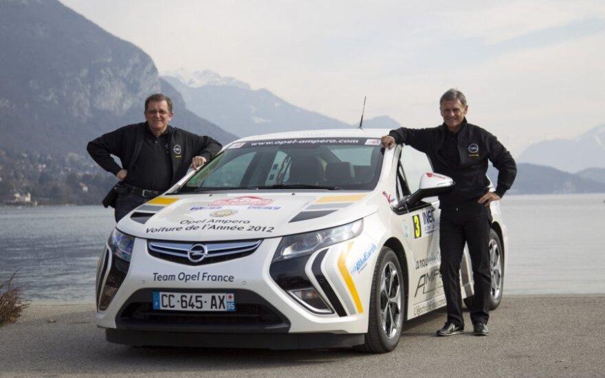Opel Ampera Monte Karlo ralyje