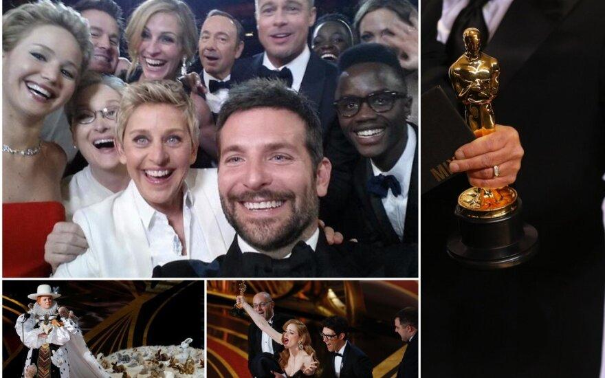 Oskarų ceremonijų akimirkos