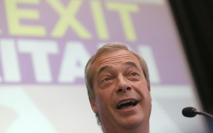 N. Farage'as