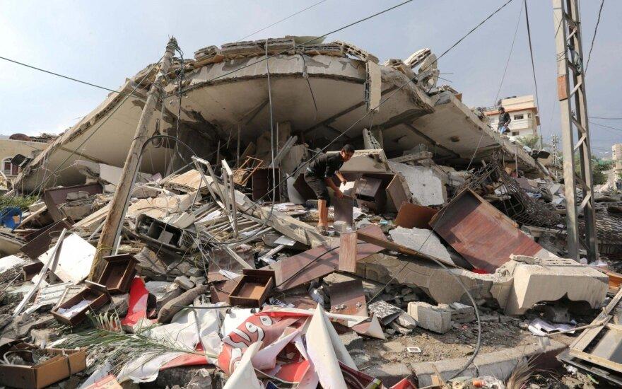Gazos Ruože per paskelbtas paliaubas žuvo pirmas žmogus