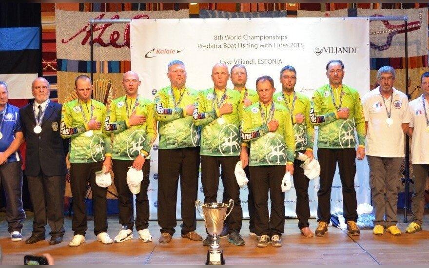 Lietuvos spiningautojų lyga Pasaulio spiningavimo čempionate