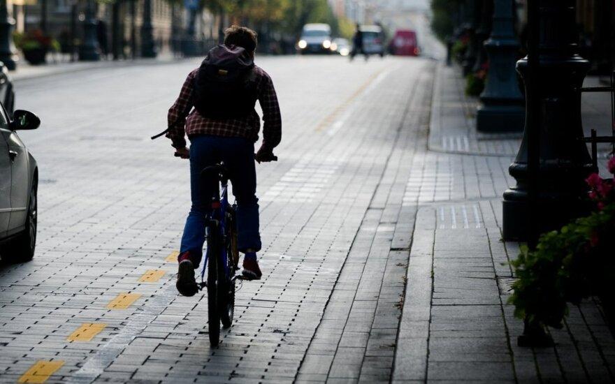 """Tyrimas atskleidė dviratininkų """"nuodėmes"""""""