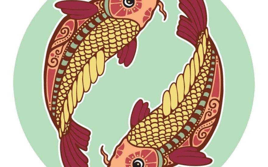Zodiako ženklai ir asmenybė. Žuvys