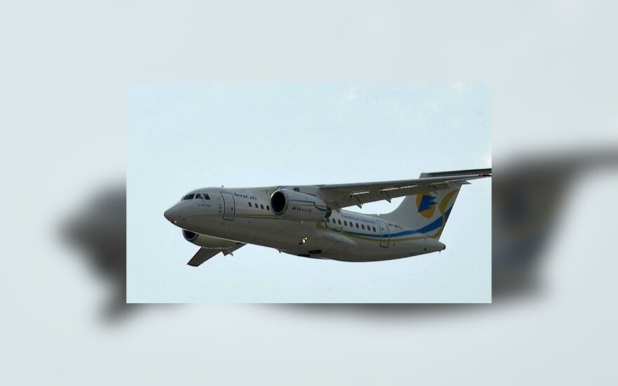 Rusijoje sudužusio modelio lėktuvai anksčiau skraidė Lietuvoje