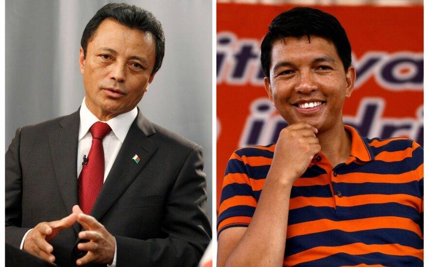 Marcas Ravalomanana, Andry Rajoelina