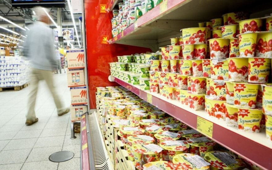 Cheaper dairies produced for Russia flood Lithuanian stores