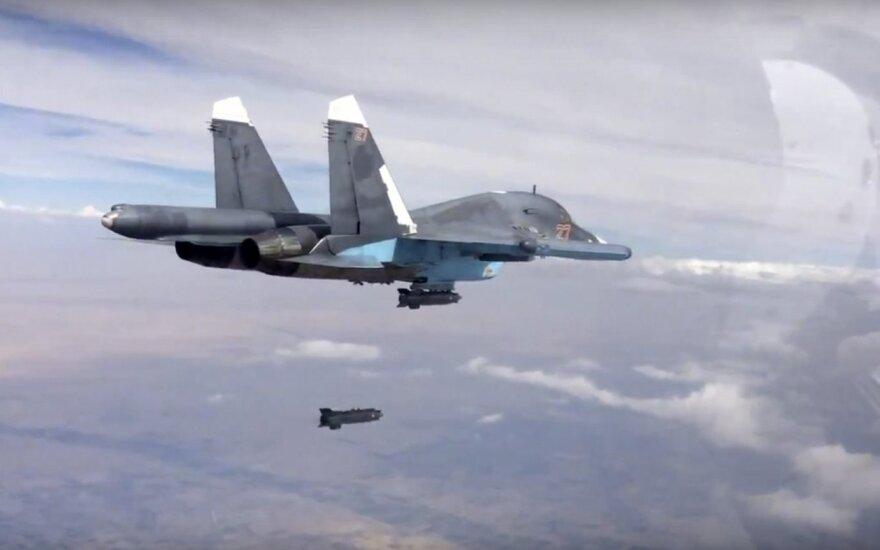 """""""New York Times"""" tyrimas: Rusija vos per 12 val. Sirijoje subombardavo 4 ligonines"""