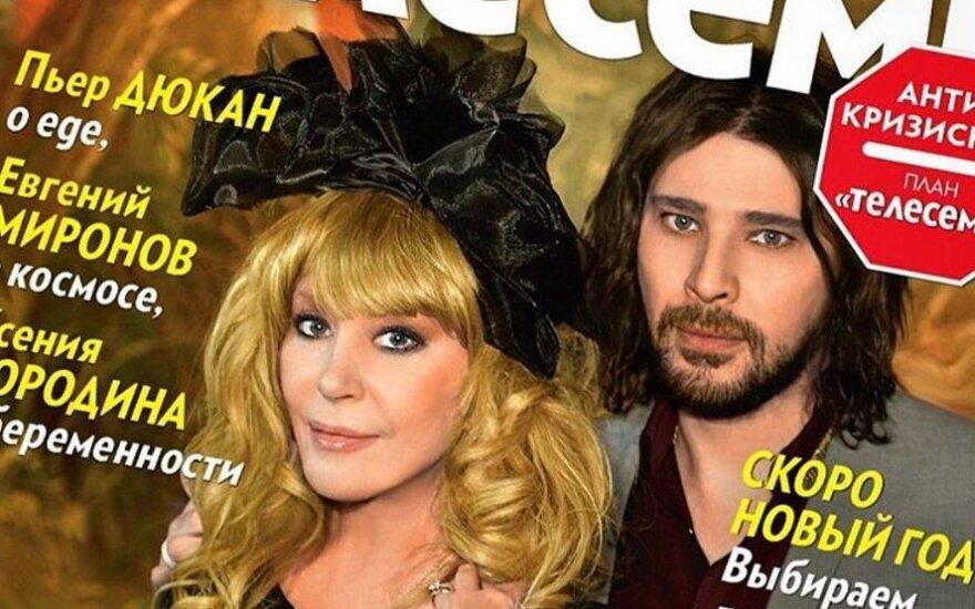 """Ala Pugačiova žurnalo """"Telesem"""" viršelyje"""