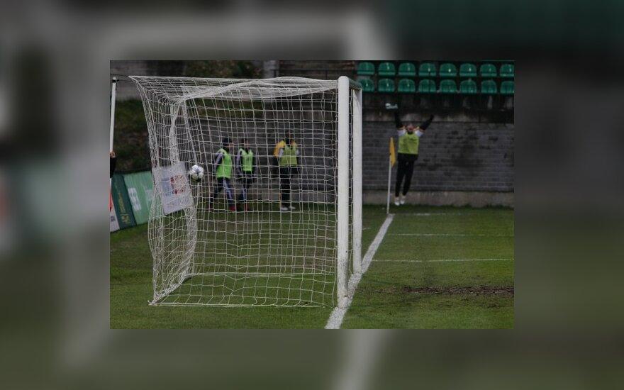 Futbolas, įvartis, vartai