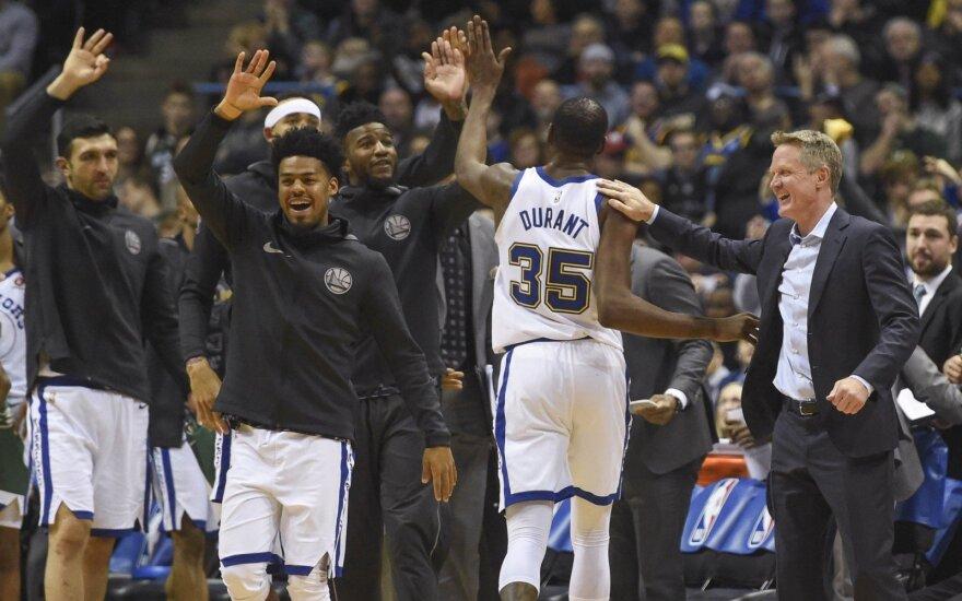 """Kevinas Durantas ir """"Golden State Warriors"""""""