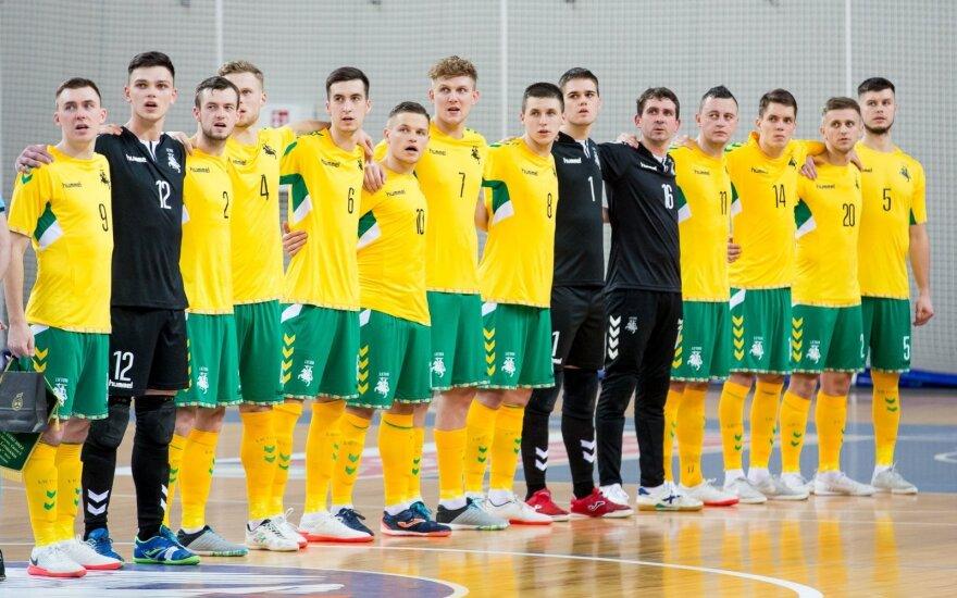 """Lietuvos salės futbolo rinktinė (""""Lietuvos futbolas"""" feisbuko paskyra)"""