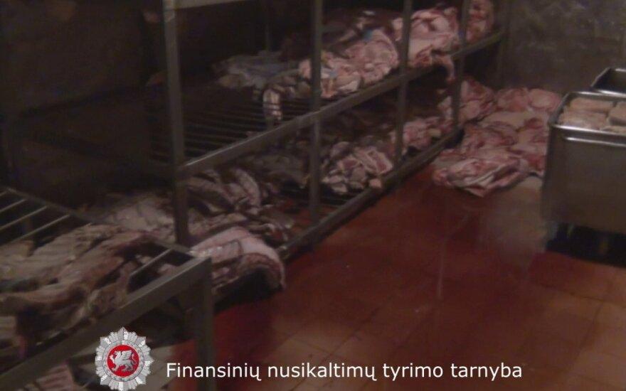 FNTT atliko kratas mėsos perdirbimo įmonėje