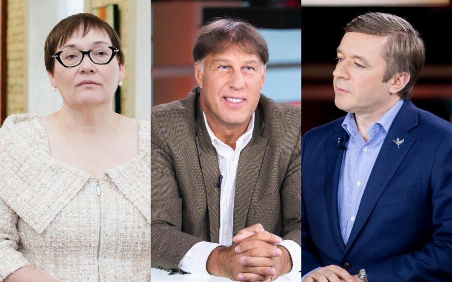 Aušra Maldeikienė, Šarūnas Marčiulionis, Ramūnas Karbauskis