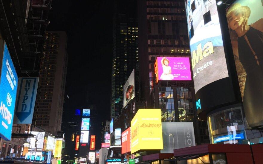 Niujorke pašautas antras per kelias valandas policininkas