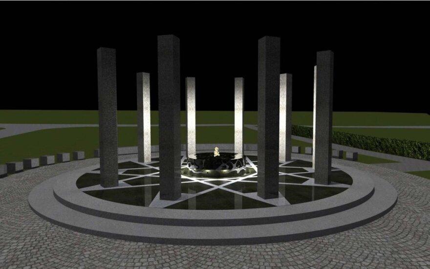 Atnaujintą Reformatų skverą Vilniuje papuoš unikalus paminklas