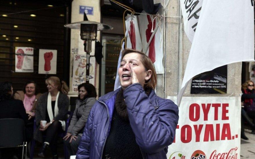 Graikija žada sudaryti reformų rinkinį iki mėnesio pabaigos
