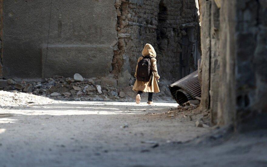 Sprogimo Damaske aukų skaičius išaugo iki 74